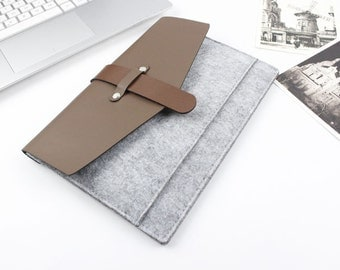 Felt Macbook Air 13 sleeve, Macbook sleeve 13, Macbook case 13, Macbook Air Case, Macbook Air Sleeve, Laptop sleeve, laptop case SJ225