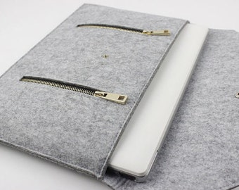 Gift Felt 13 inch Macbook Pro sleeve, macbook air 13 sleeve, Macbook Pro sleeve, macbook air case, laptop case, Laptop sleeve SJ328