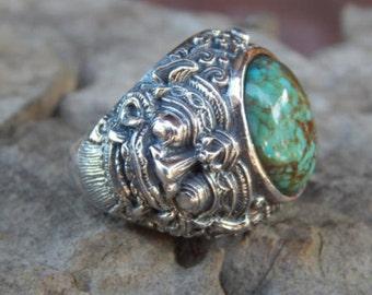 Boma silver ring
