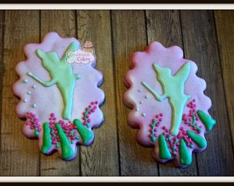 "Fairy decorated sugar cookies -1 dozen 4"""