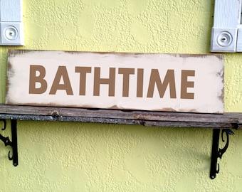 Shabby Chic Bathroom Signs