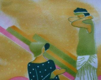 Flapper Girl Fabric
