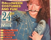 "Vintage Craft Booklet, ""Wearable Wonders"", Instructional, How To Directions, 1992 Publication, Fun Holiday Fashions, Halloween Costumes"