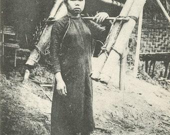 Antique Postcard - Indo-Chine Francaise