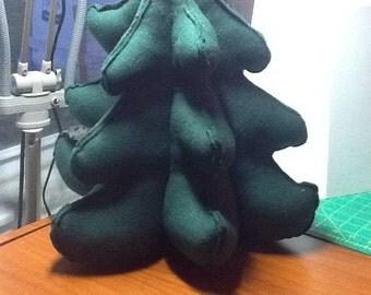 3D Fleece Stuffed Christmas  Tree