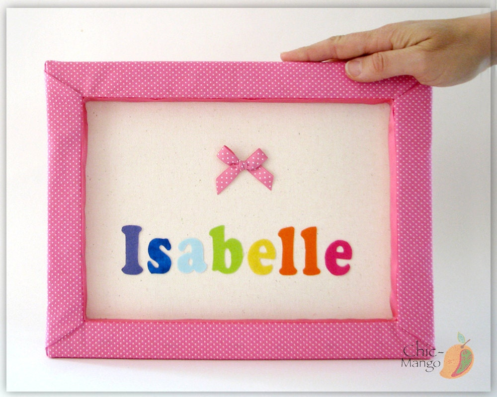 Rainbow room decor for girl personalized baby gift new baby for Room decor gifts
