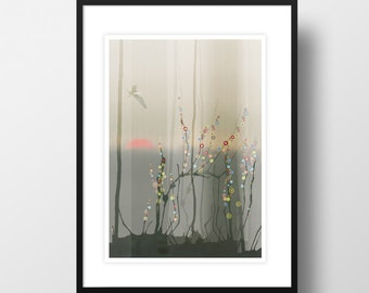 "Artprint ""Magic forest"""