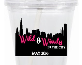 Wild & Windy In The City Tumbler