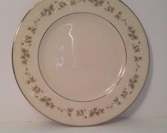 Vintage- Lenox Bone China- Brookdale Pattern Salad Plate