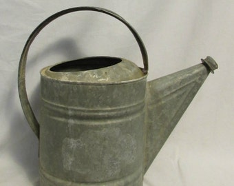 Watering Pail, Galvanized Steel, 1950's