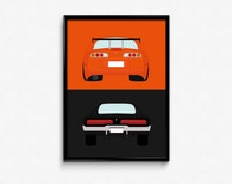 Fast and Furious Collection A3 Prints