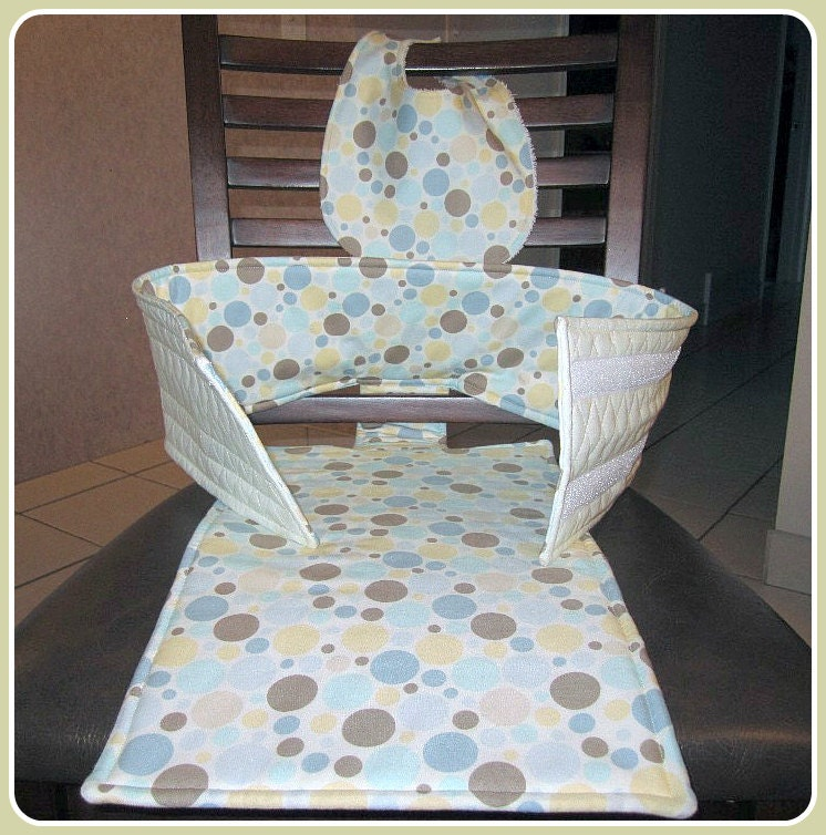fabric high chair anywhere travel chair by. Black Bedroom Furniture Sets. Home Design Ideas