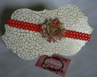 Heaband flower liberty inspired one size