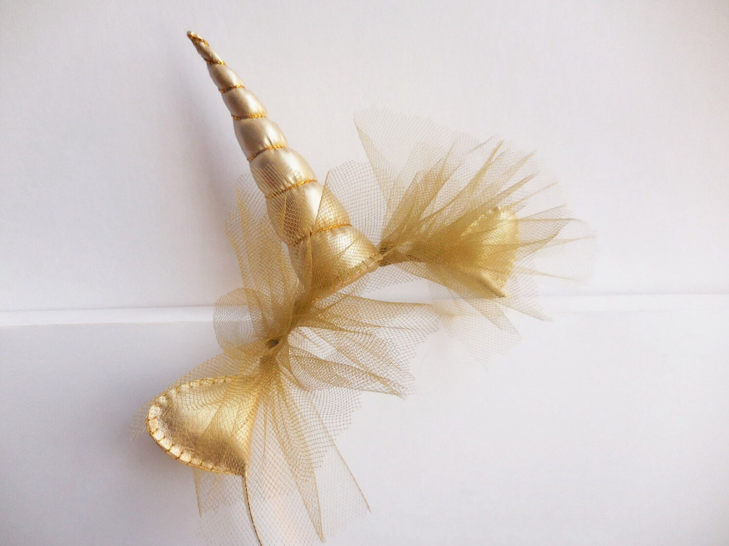 Gold Unicorn Horn Headband Gold Unicorn Horn Gold By Graciosa