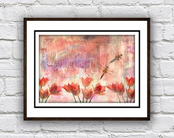 Tulips and Butterflies #2