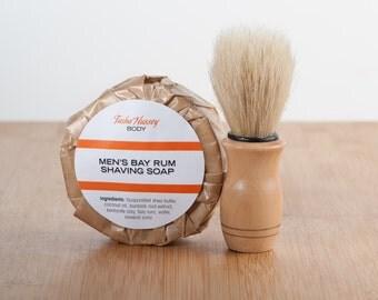 Bay Rum Shaving Soap,Mens Shaving Soap,Handmade Shaving Soap, Men's Shaving Face Soap,No brush just the Soap