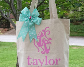 Personalized Ballet Tote