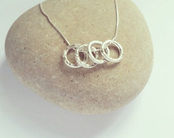 name rings necklace