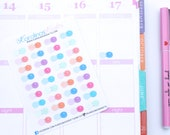 36 Contact Lens Stickers! Perfect for your Erin Condren Life Planner, Filofax, Plum Paper & other planner or scrapbooking! #SQ00644