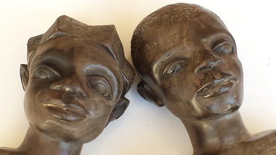 African wood sculptures beautiful hand carved by