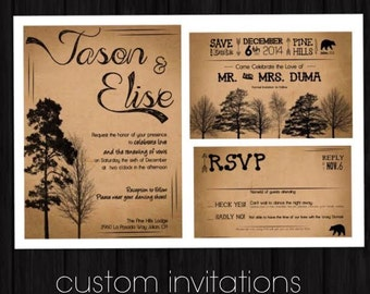 Custom Design Invitations