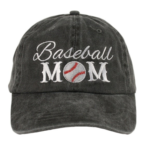 Free shipping baseball mom women s cap hat