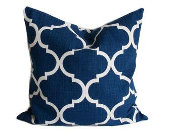 Blue Pillows Blue Pillow Cover Blue Throw Pillows Toss