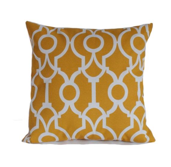outdoor pillows 18x18 yellow outdoor pillow cover