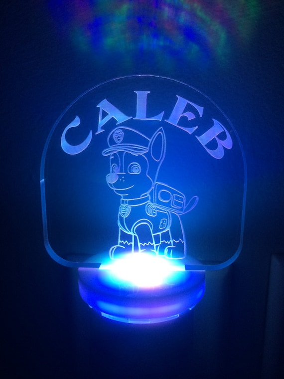Personalized Laser Engraved PAW PATROL Chase by YoursCherished