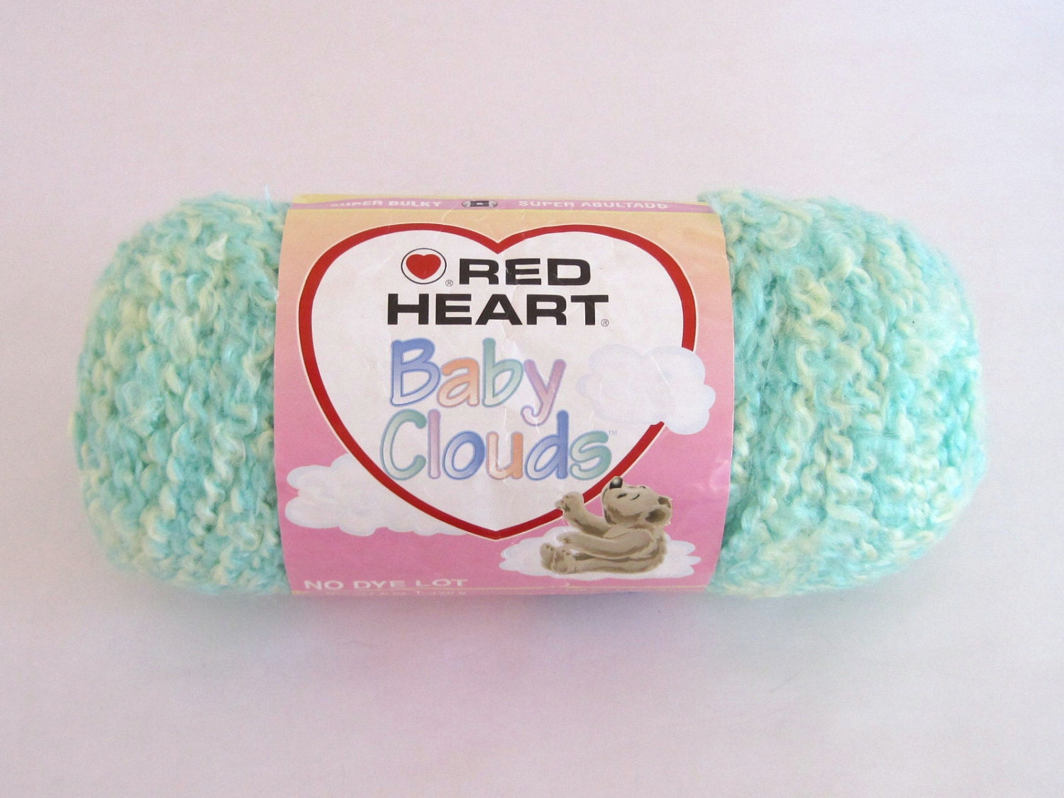 Knitting Patterns For Baby Clouds Yarn : Red Heart Baby Clouds Green Yellow Yarn. Lion by TalicakeCrochet