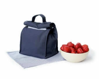 MTO Insulated lunch bag - Solid cotton