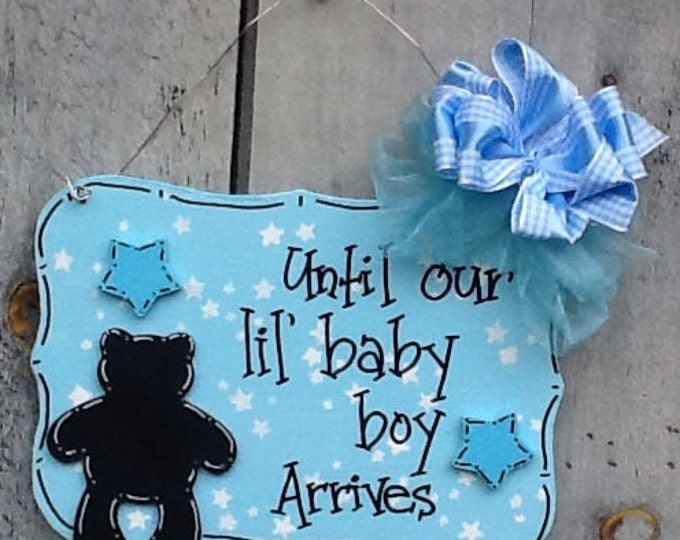 New baby countdown arrival