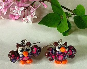 Little love owl Earrings