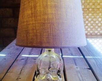 Crystal Head Vodka 750 ml. Lamp