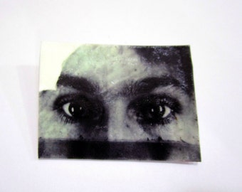 Eyes two - The Visible Woman brooch