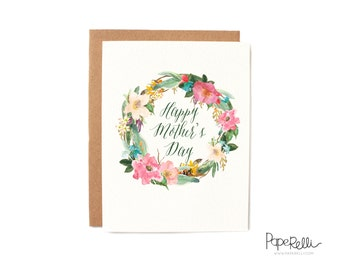 Mother's Day Card - Floral