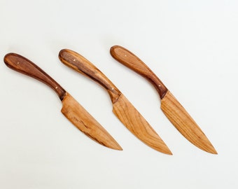 Plum wooden knife | Cheese, Butter, Jam spreader