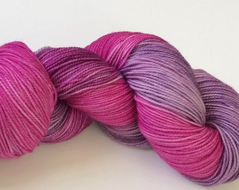 Hand Dyed, Superwash, Merino, Yarn, Wool, Sport, Sock, 4 Ply, High Twist