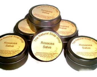 Get Relief Rosacea Healing Salve w/Cats Claw, Feverfew, Licorice, Red Clover +