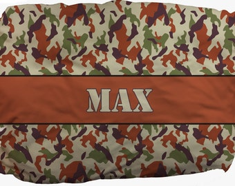 Camouflage Pet Bed_Your pet can relax in comfort and style
