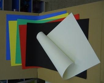 "2mm 26"" x 39"" EVA Foam Sheet in 7 colors."