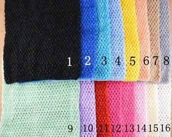 10pcs Wholesale 12 inch Crochet Tutu Top/ stretchy tutu dress top,Tutu Dress Supply