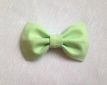 Mint Hair Bow - Baby Hair Bow - Bow - Girls Hair Clip - Hair Bow - Baby Hair Clip - Hair Clip - Bow Hair Clip