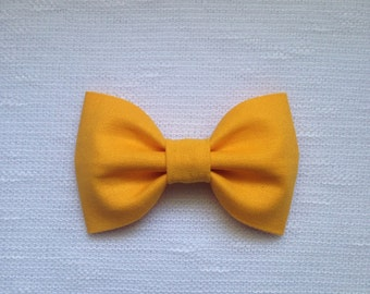 Mustard Yellow Hair Clip