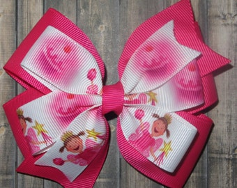 Pink Pinkalicious Hair Bow / Pinkalicious Bow