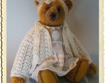 Jelinka, 35 Cm mohair bear