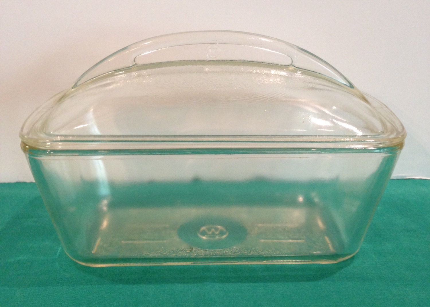Westinghouse Glass Loaf Pan With Glass By Sunshineoftreasures