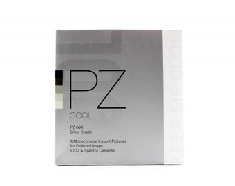 Impossible Project PZ600 Cool Silver Shade Polaroid film Spectra Image EXPIRED