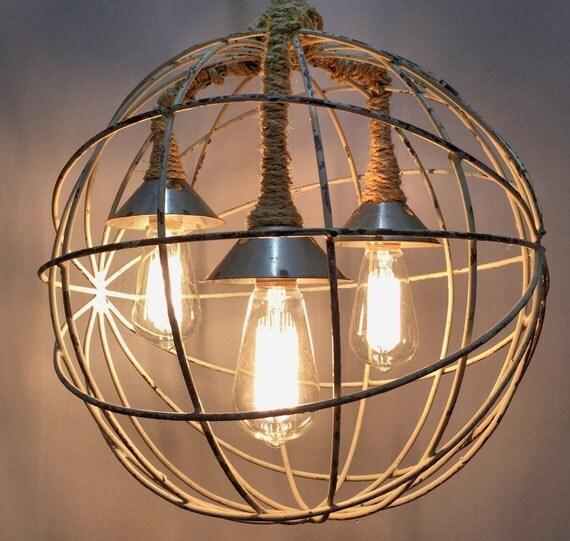 RESERVED FOR LC: Industrial LightingChandelier LightOrb