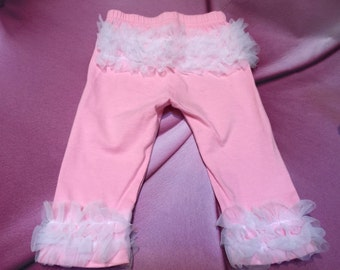 Adorable Ruffled Bum Leggings